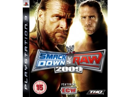 PS3 WWE Smackdown vs Raw 2009