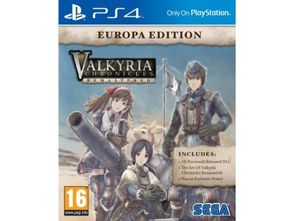 PS4 Valkyria Chronicles Remastered Europa Edition