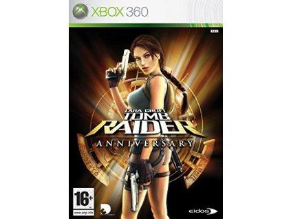 X360 Lara Croft Tomb Raider Anniversary