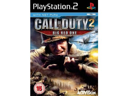 PS2 Call of Duty 2 The Big Red One