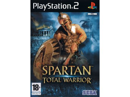 158237 spartan total warrior playstation 2 front cover
