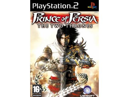 PS2 Prince Of Persia The Two Thrones