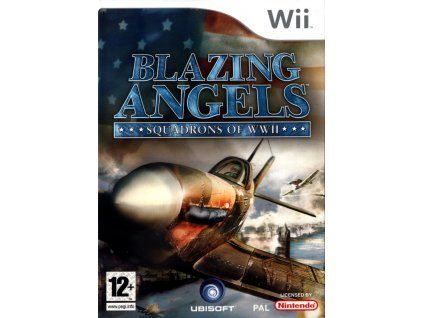 92187 blazing angels squadrons of wwii wii front cover