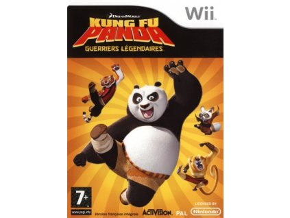 Wii Kung Fu Panda Legendary Warrior