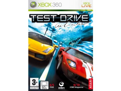 xbox 360 test drive unlimited