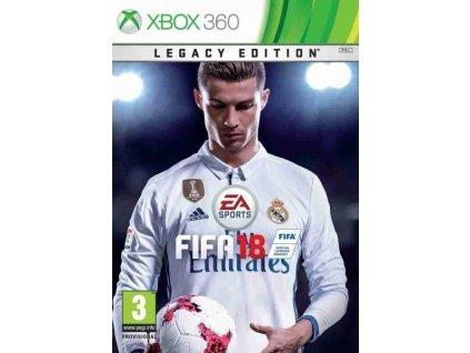 X360 FIFA 18 Legacy Edition Nové