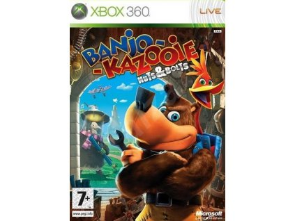 X360 Banjo-Kazooie Nuts and Bolts CZ