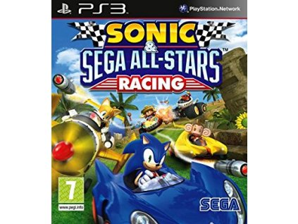 PS3 Sonic and Sega All-Stars Racing
