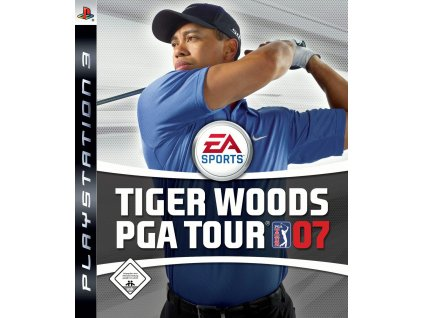 playstation 3 ps3 tiger woods pga tour 07