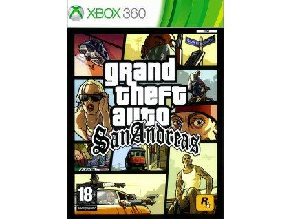 X360 Grand Theft Auto San Andreas