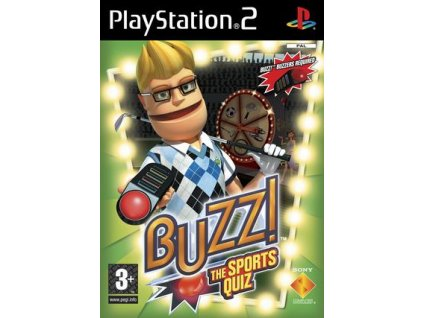 PS2 BUZZ! The Sports Quiz