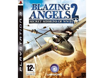 PS3 Blazing Angels 2 Secret Missions of WWII