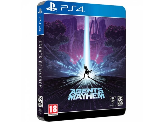 pc and video games games ps4 agents of mayhem day one steelbook edition 4 rawl