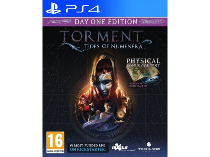 PS4 Torment Tides of Numenera Day 1 Edition N