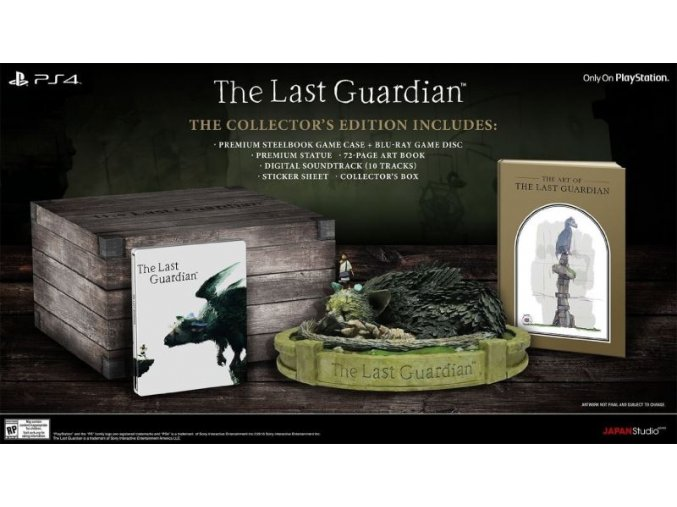 the last guardian collector s edition ps4