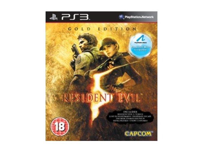 resident evil 5 gold edition move compatible ps3 pouzite