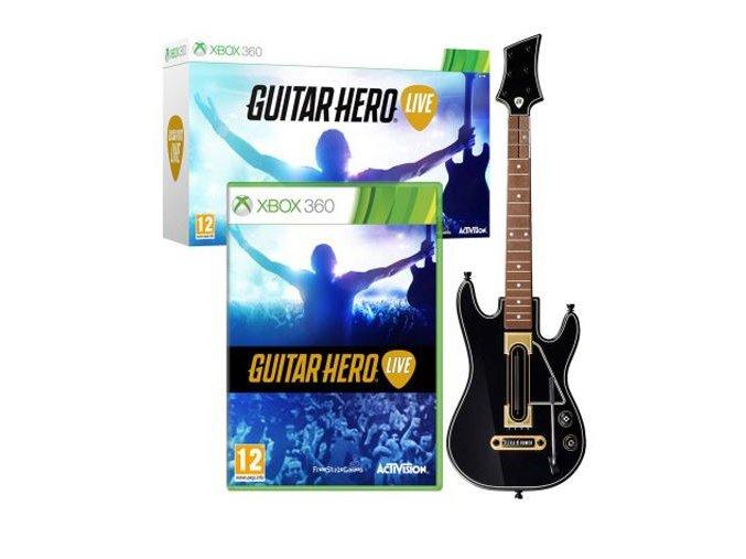 guitar hero live kytara x360