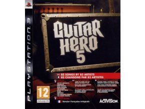 194650 guitar hero 5 playstation 3 front cover