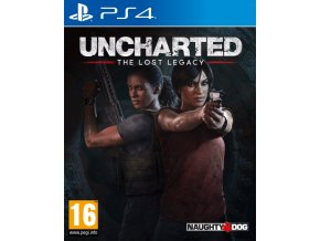 PS4 Uncharted The Lost Legacy CZ Nové