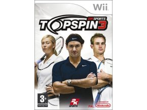 top wii games topspin 3
