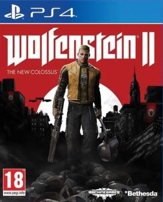 PS4 Wolfenstein 2 The New Colossus Nové