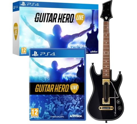 PS4 Guitar Hero Live + kytara