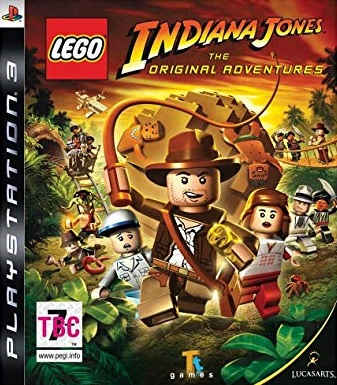 PS3 Lego Indiana Jones The Original Adventures