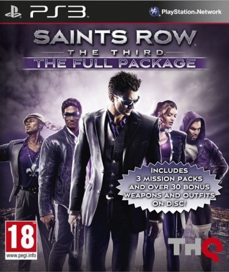 PS3 Saints Row The Third The Full Package