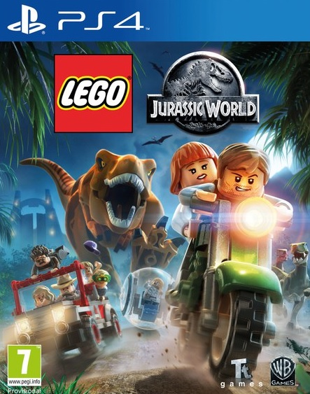 PS4 Lego Jurassic World Nové