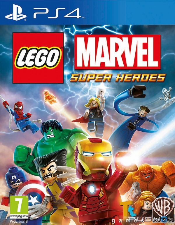 PS4 Lego Marvel Super Heroes Nové