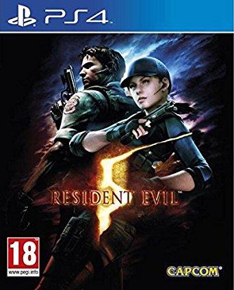 PS4 Resident Evil 5 HD Nové