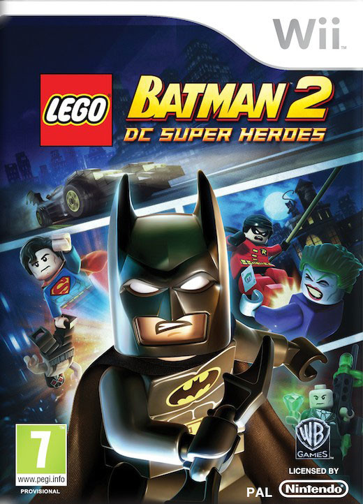 Wii Lego Batman 2 DC Super Heroes