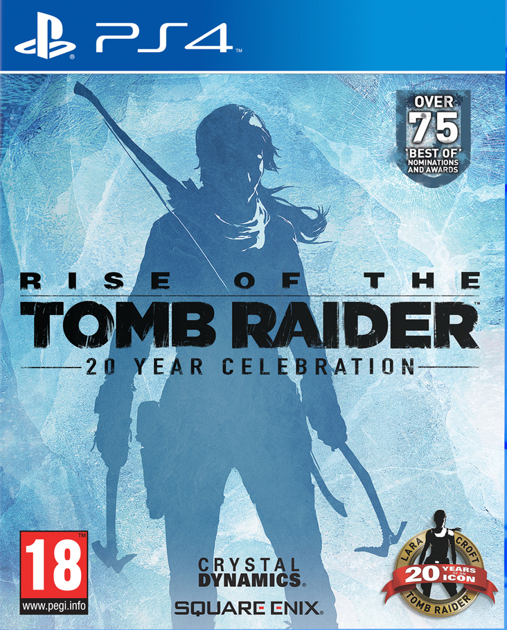 PS4 Rise of The Tomb Raider 20 Year Celebration Nové