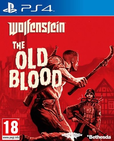 PS4 Wolfenstein The Old Blood Nové