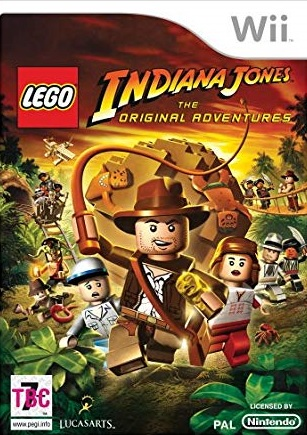 Wii LEGO Indiana Jones The Original Adventures
