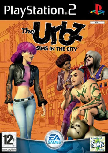 PS2 The Urbz Sims in City