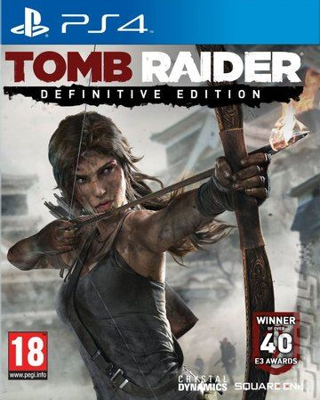 PS4 Tomb Raider Definitive Edition Nové