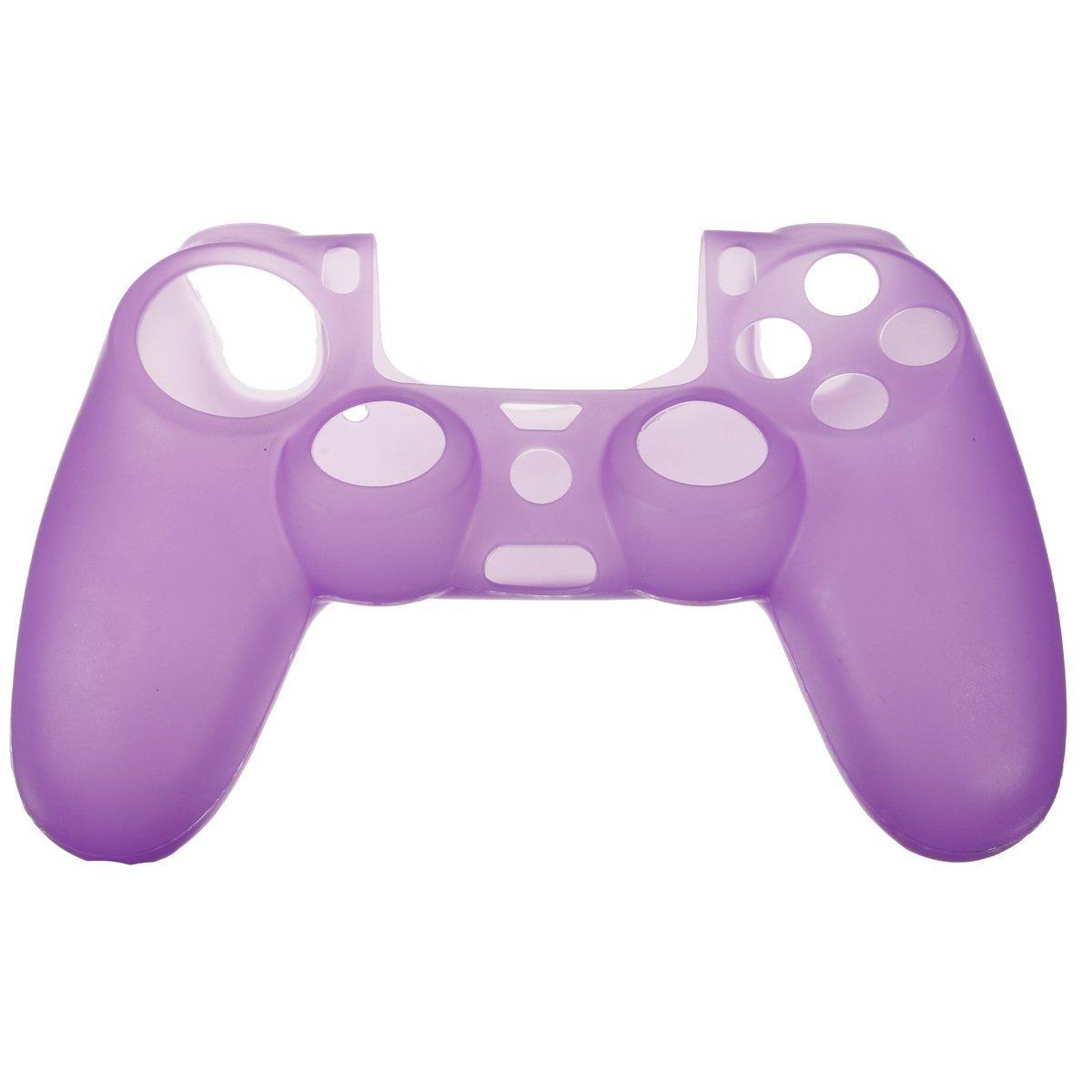PS4 silikonový obal na ovladač fialový Nové