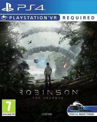 PS4 Robinson The Journey VR Nové
