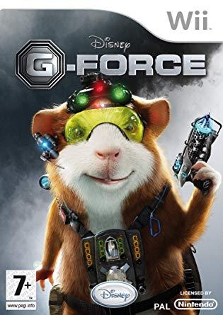 Wii Disney G-Force