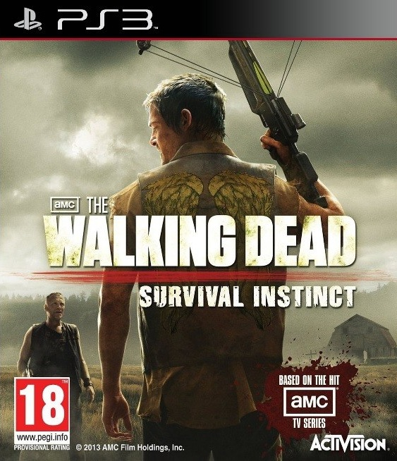 PS3 The Walking Dead Survival Instinct