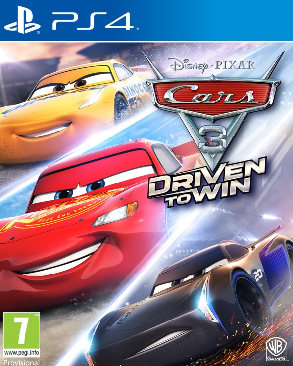 PS4 Disney Cars 3 Driven to Win Nové