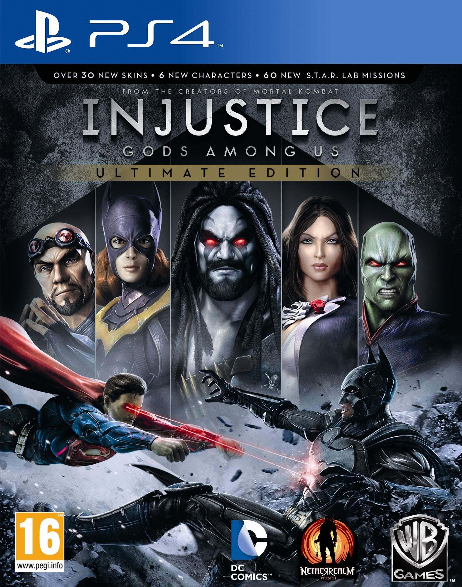 PS4 Injustice Gods Among Us Ultimate Edition Nové