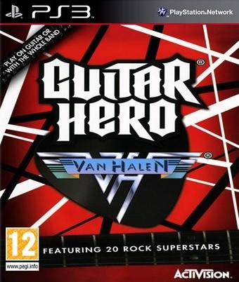 PS3 Guitar Hero Van Halen