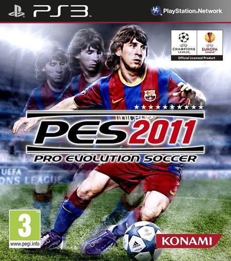 PS3 Pro Evolution Soccer 2011