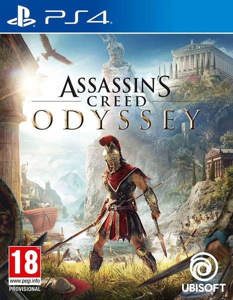 PS4 Assassins Creed Odyssey CZ