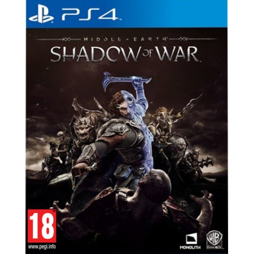 PS4 Middle Earth Shadow of War Nové