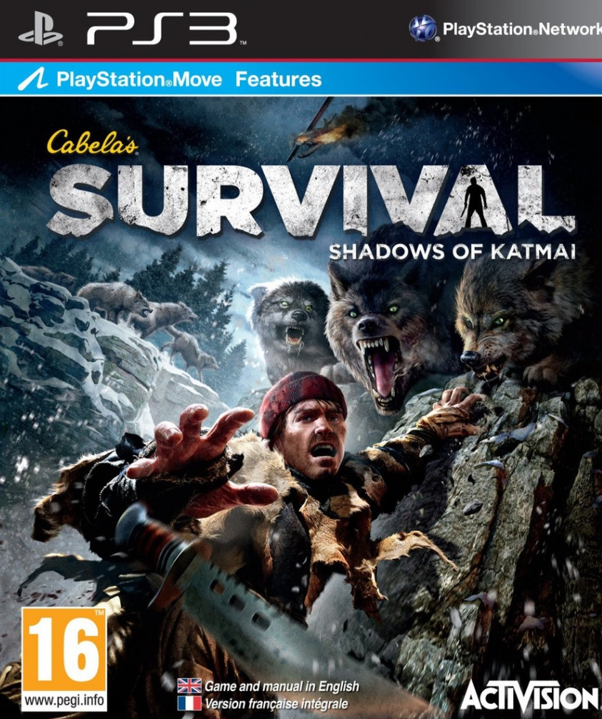 PS3 Cabelas Survival Shadows of Katmai