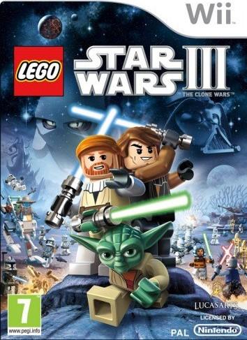 Wii Lego Star Wars 3 Clone Wars