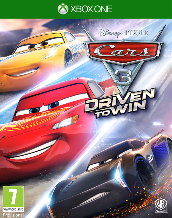 XONE Disney Cars 3 Driven to Win Nové